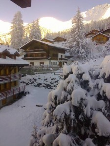 sunrise verbier friday 27 november 2015 view from concorde bedroom