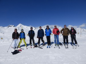 The team La Rosiere